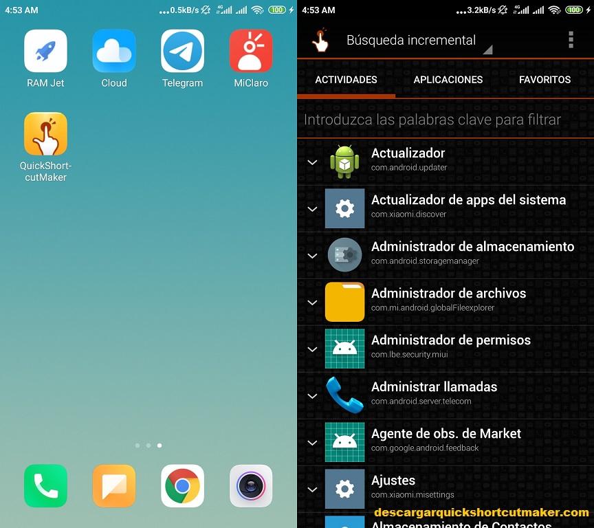 Como Instalar Quickshortcutmaker en Android paso 2